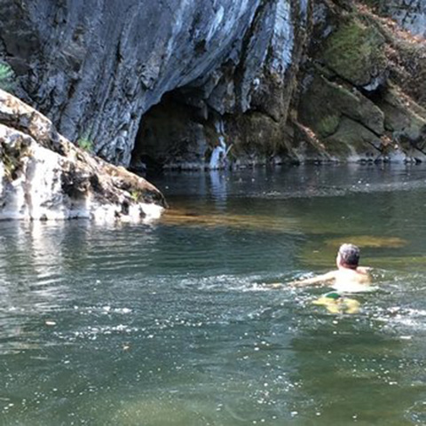 Roaring Camp Swimming Hole