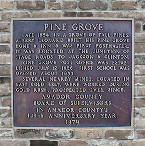 HIstoric Town Plaque