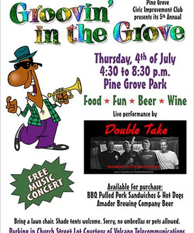 Groovin in the Grove Flier